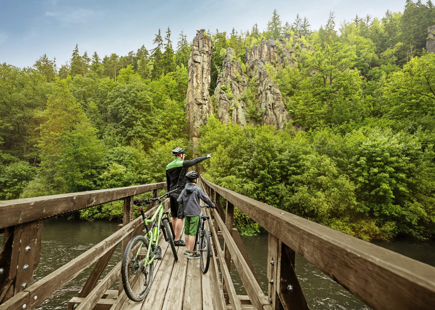 Brug Eger fietsroute
