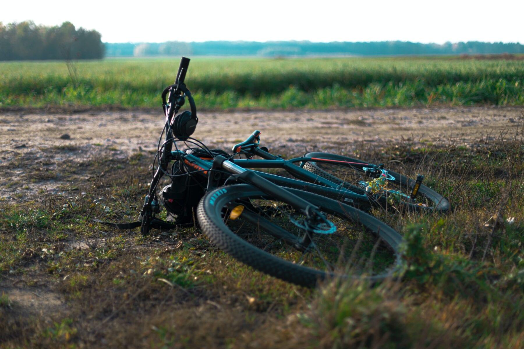 Beginnen met mountainbiken fietsframe en wielen