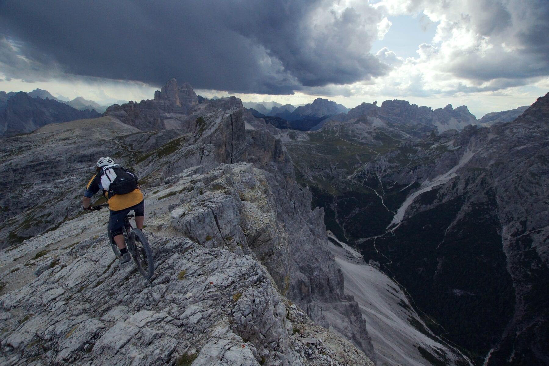 Beginnen met mountainbiken bergen