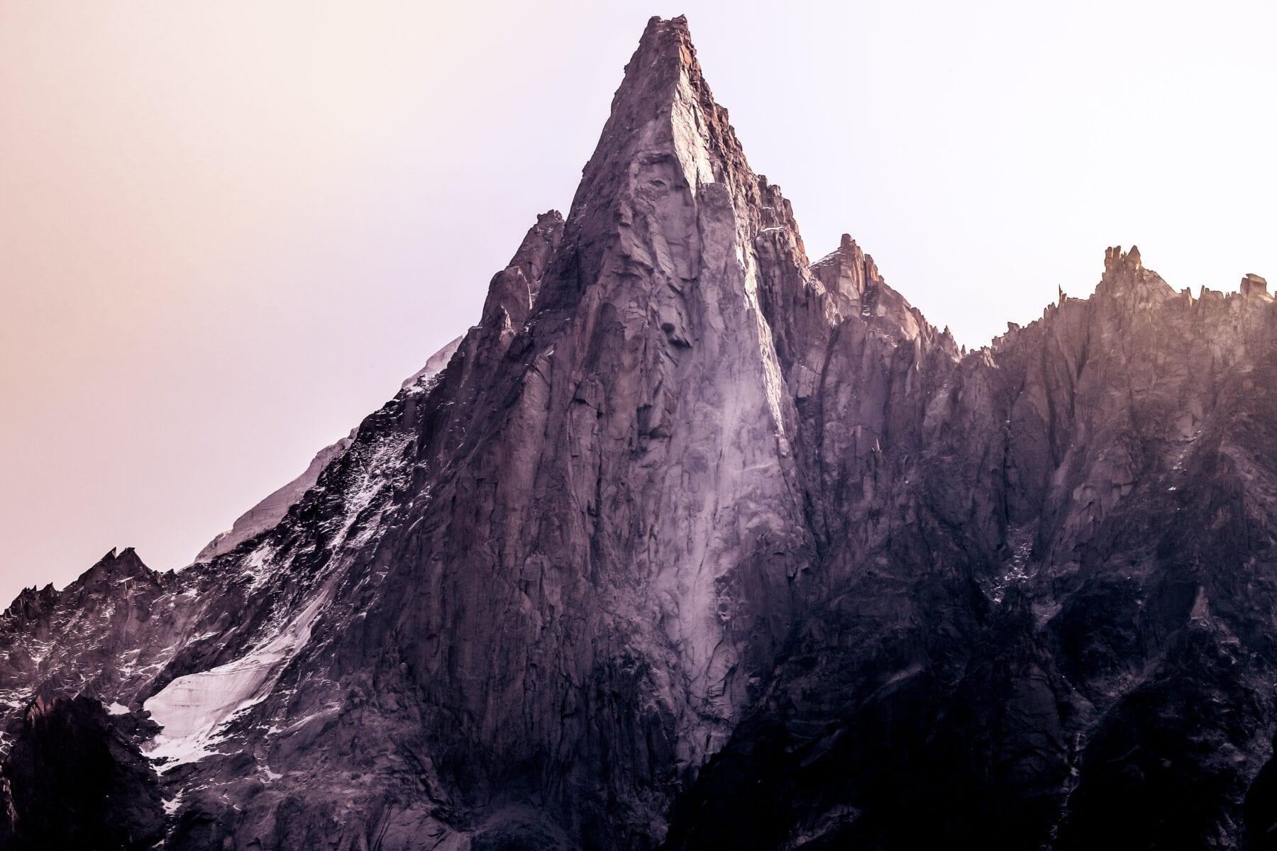 De Mer de Glace hoort in het rijtje van mooiste gletsjers van Europa