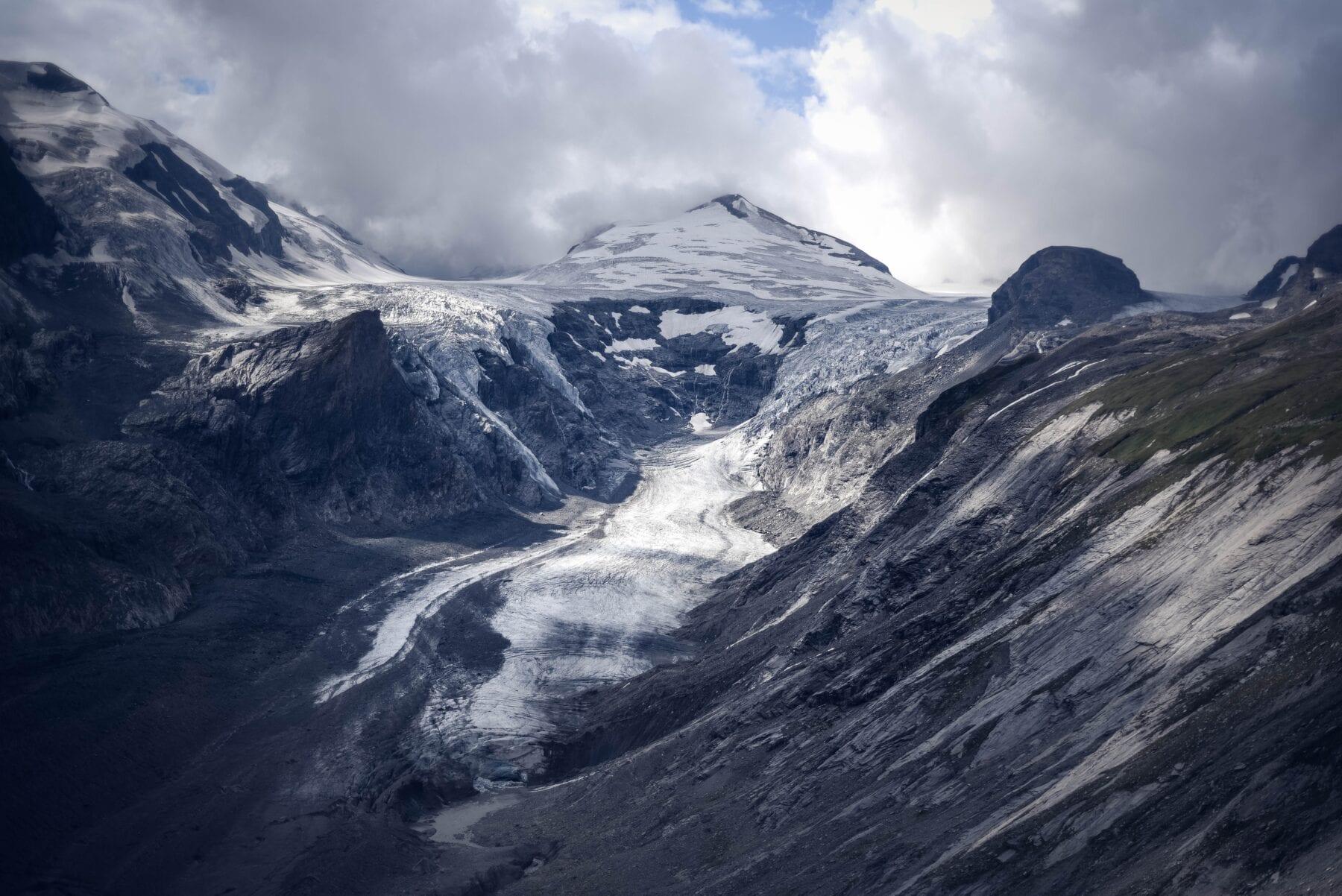 De Pasterze Gletsjer hoort in het rijtje van mooiste gletsjers van Europa