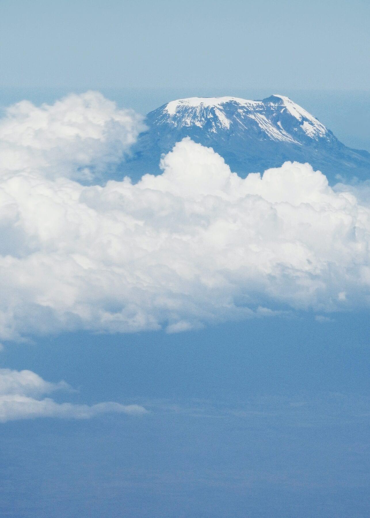 natuurbrand Kilimanjaro