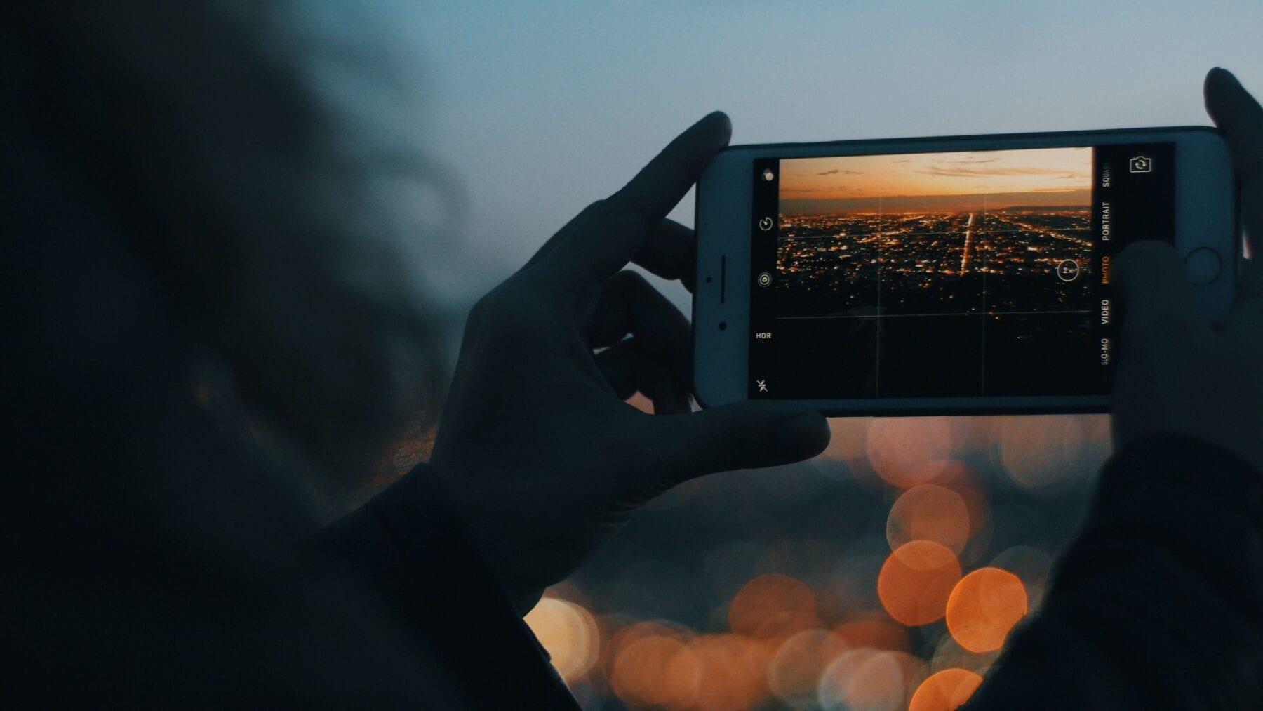 smartphone fotografie uitzicht