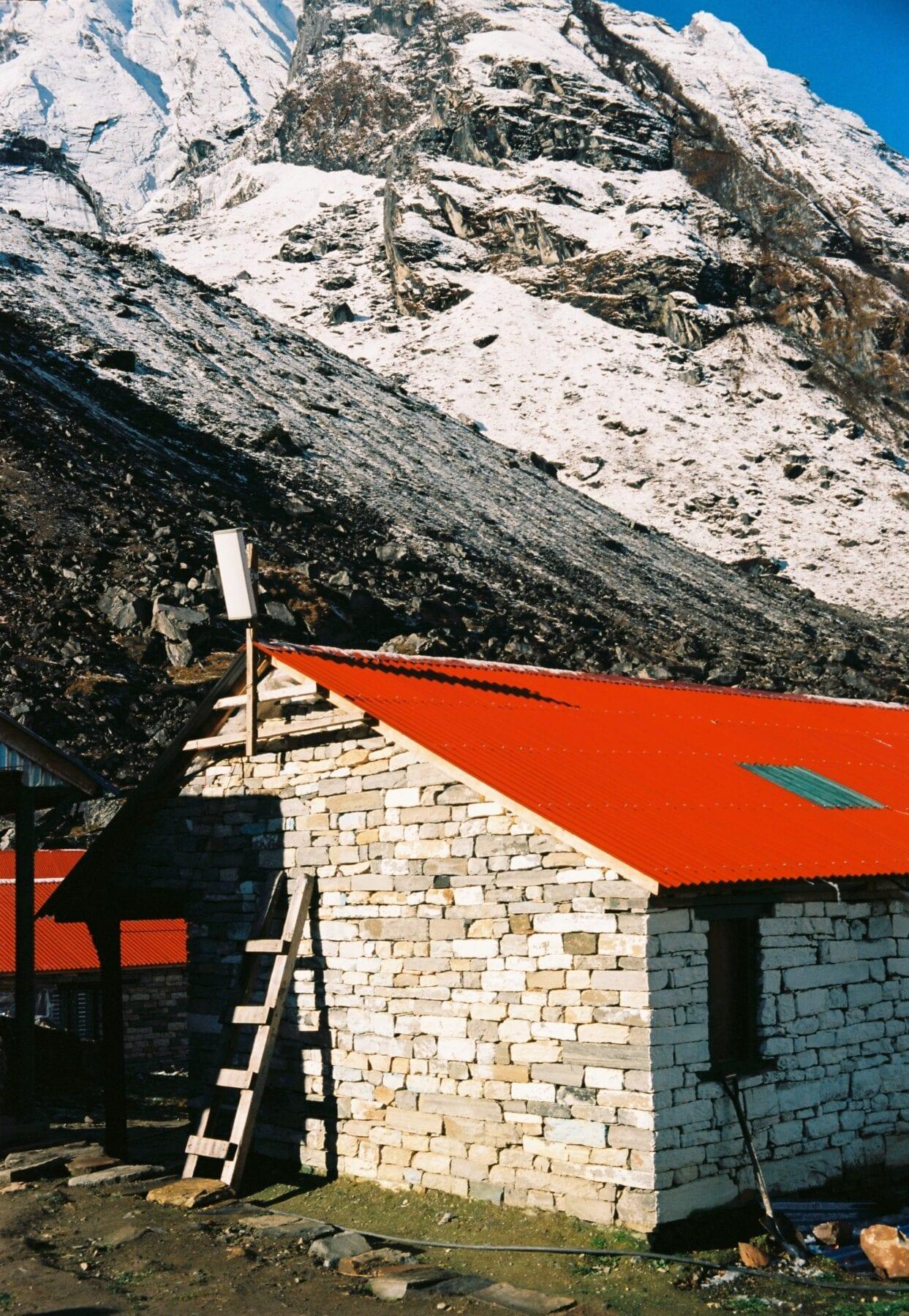 Annapurna Circuit Trekking overnachting hut
