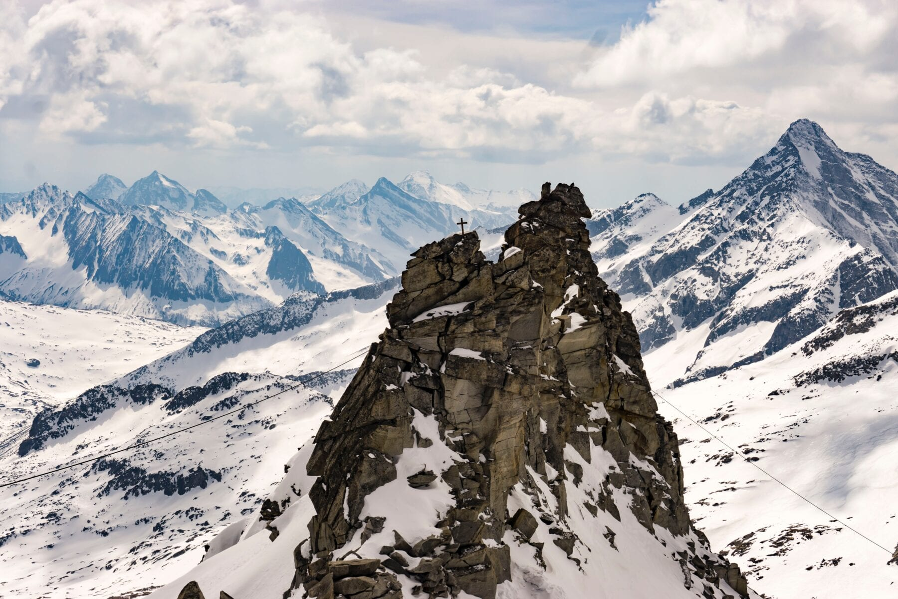 De Hintertuxer Gletsjer hoort in het rijtje van mooiste gletsjers van Europa