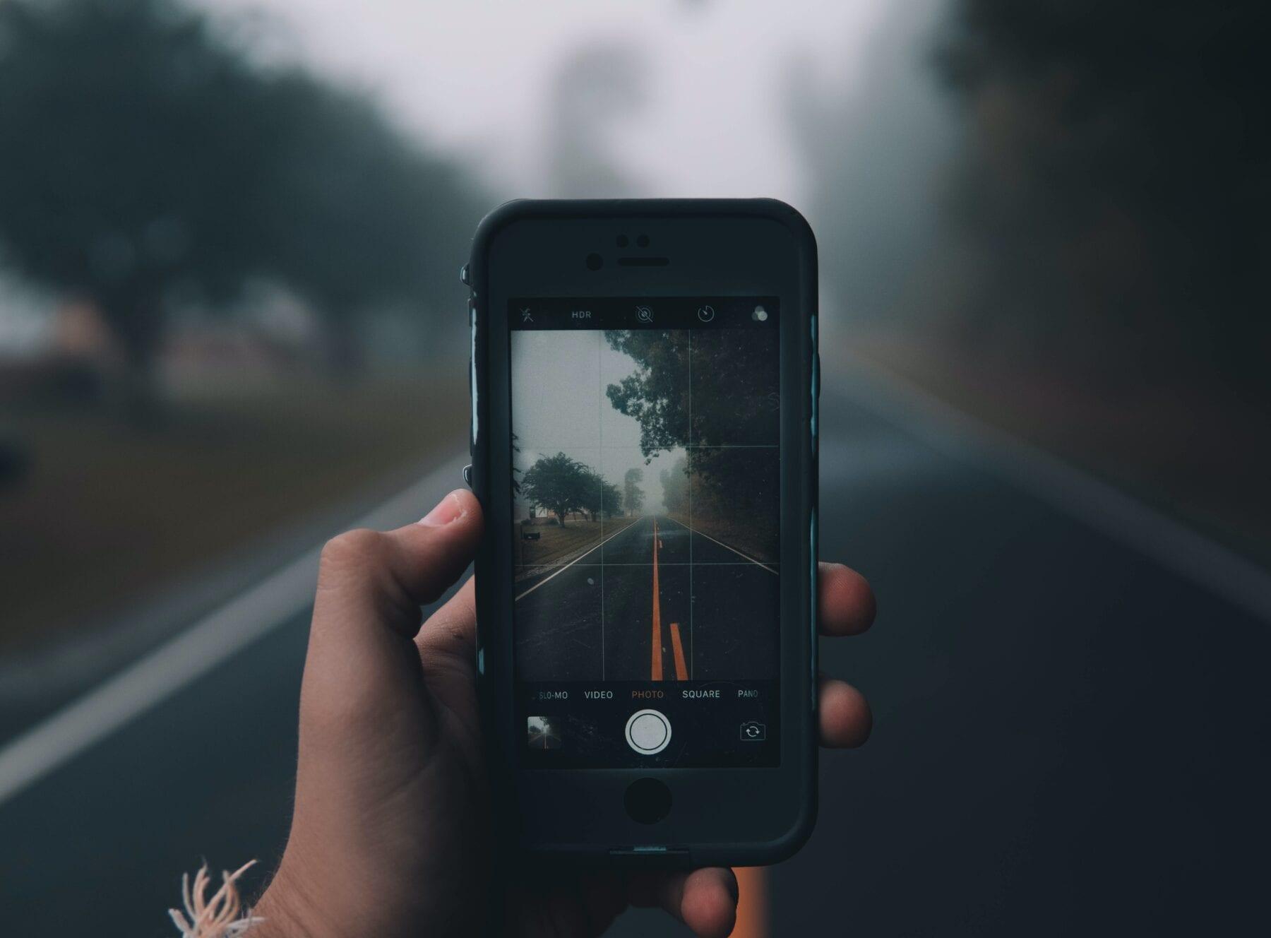 smartphone fotografie raster