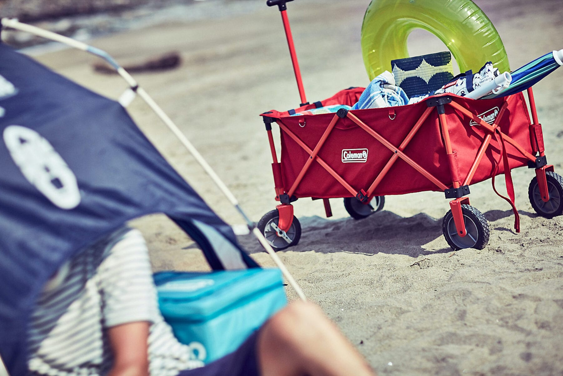 Coleman Bolderkar camping wagon