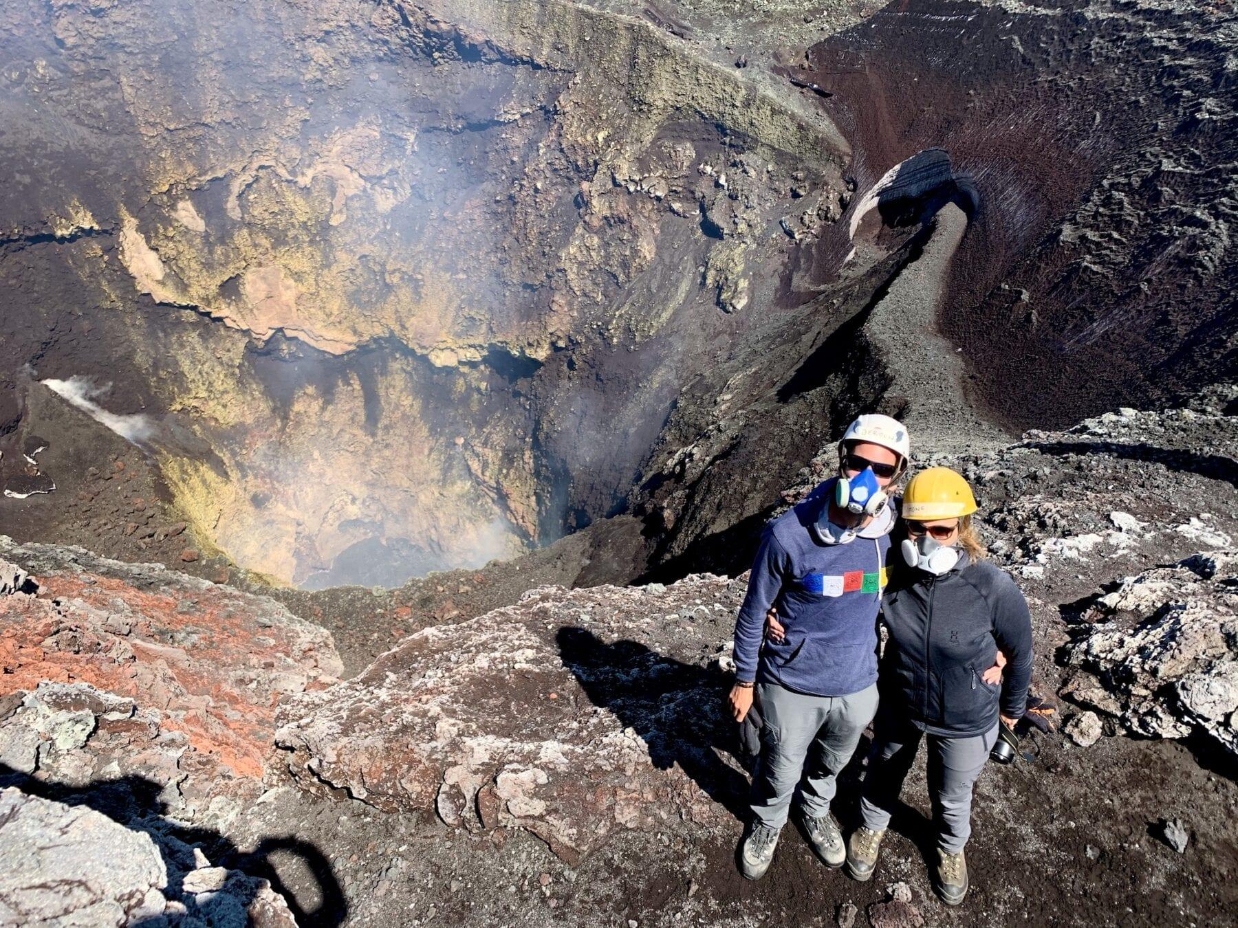 Villarrica vulkaan Chili