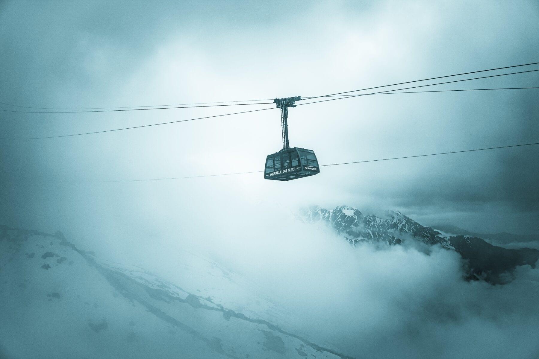 Mont Blanc gondel / kabelbaan