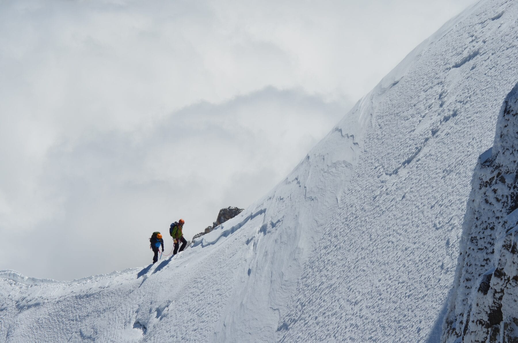 Wandelen op de Mont Blanc