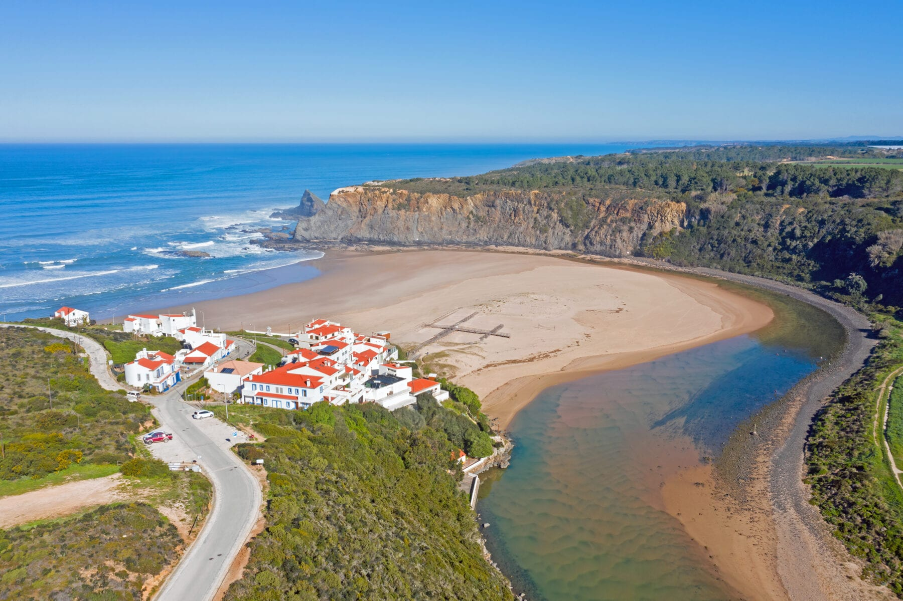 Stranden Algarve Odeceixe