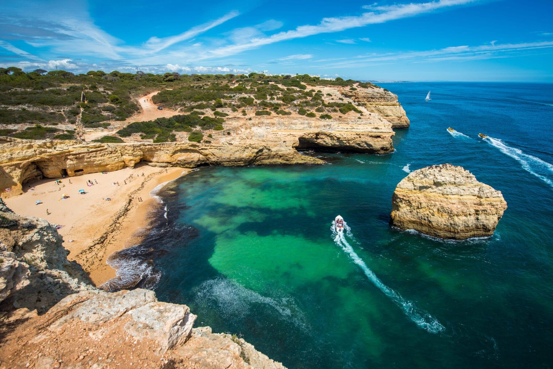 Stranden Algarve Carvalho
