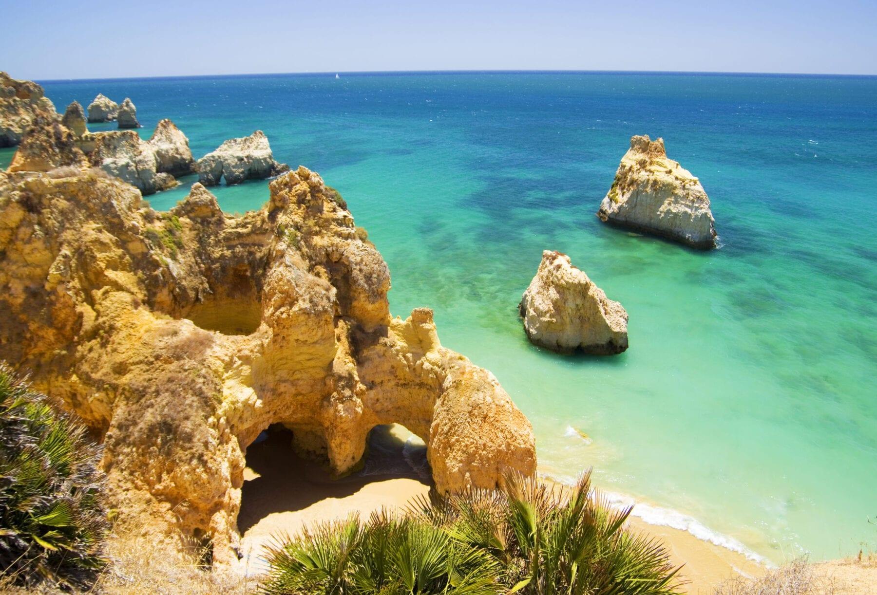 Stranden Algarve Irmaos