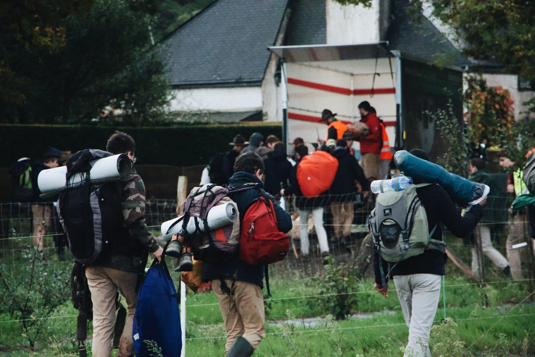 backpackers uitgelegd backpacker party