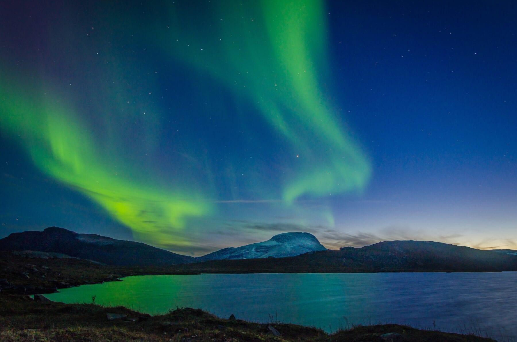 Foto's Zweden Noorderlicht