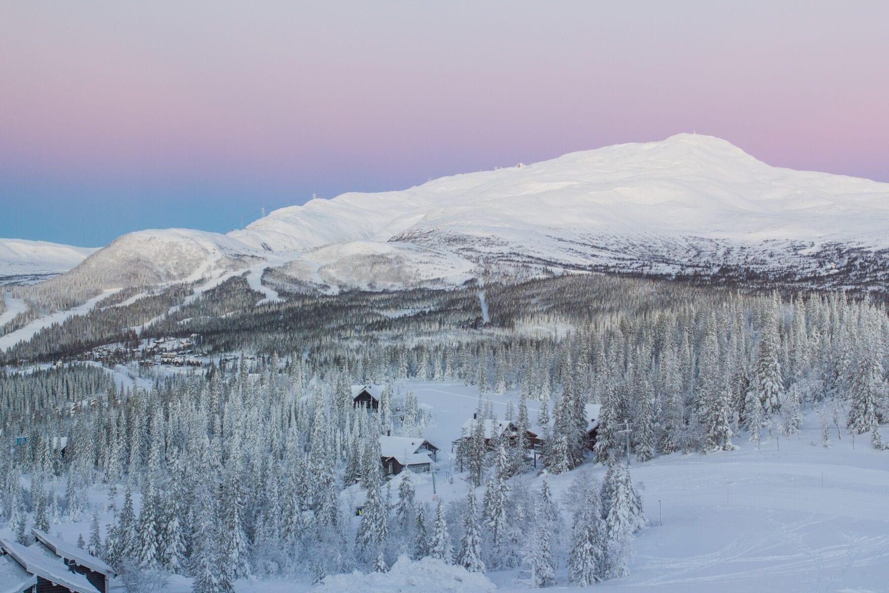 Foto's Zweden ijs