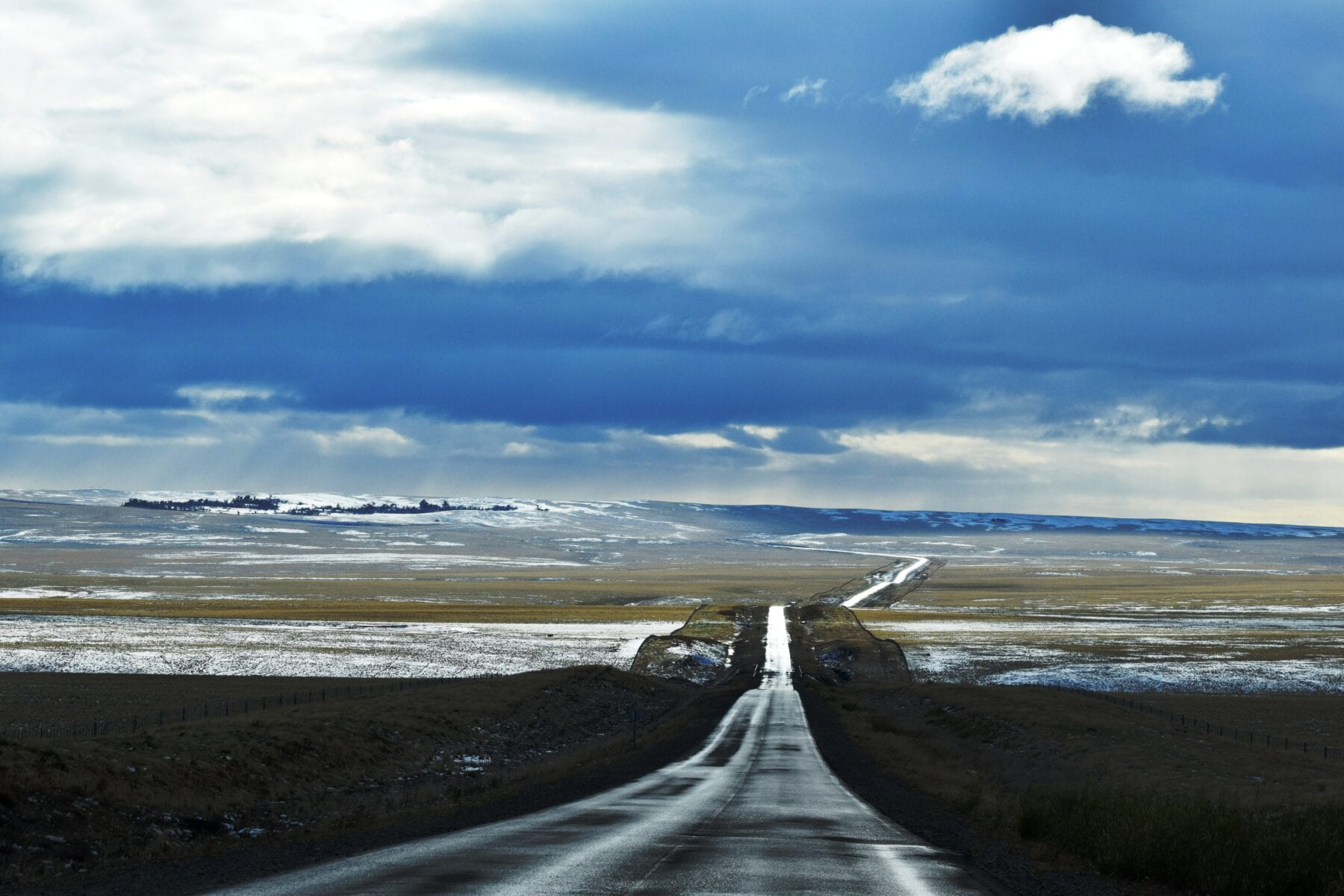 Patagonie weg