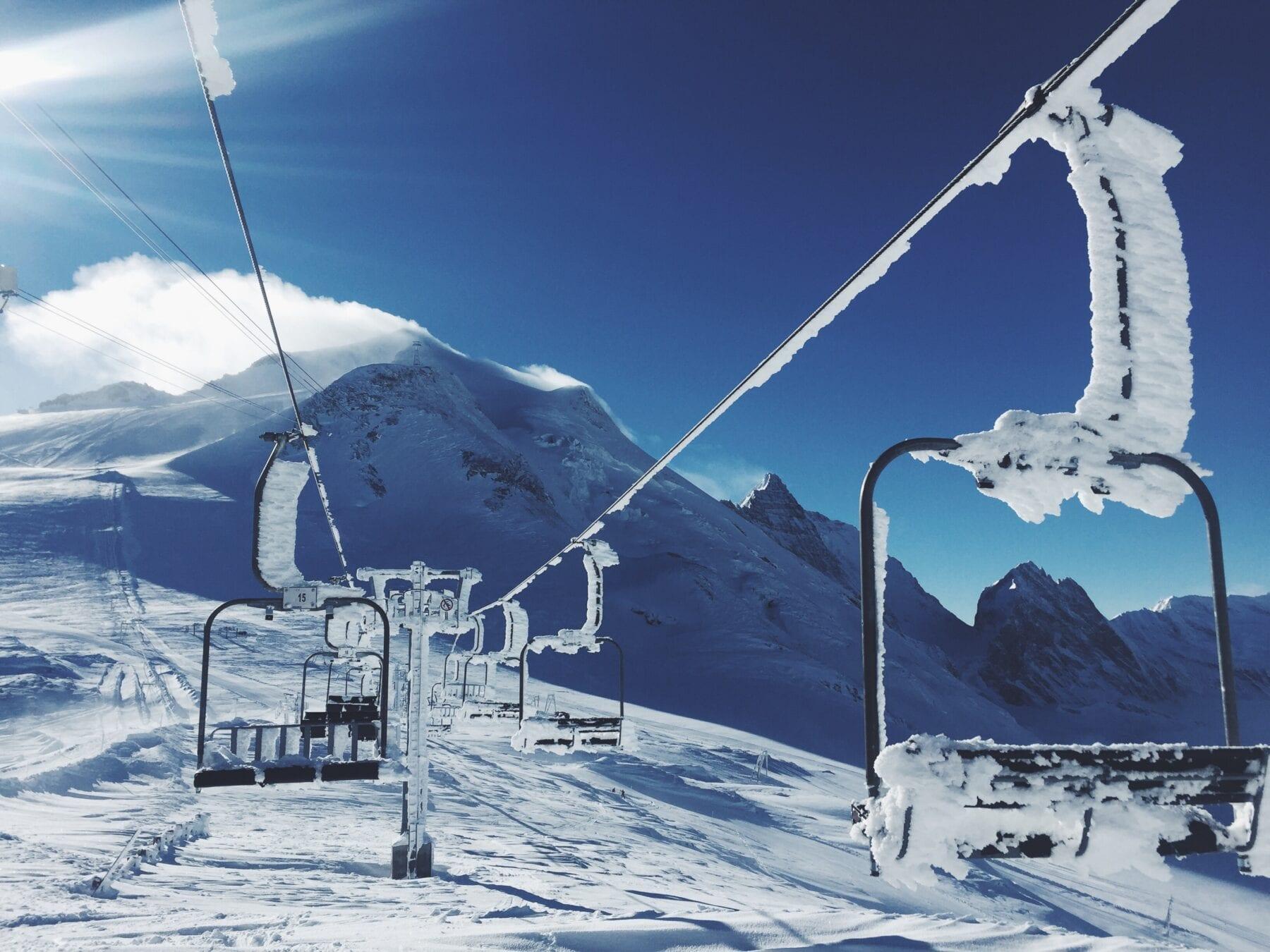 Skigebieden Frankrijk skilift