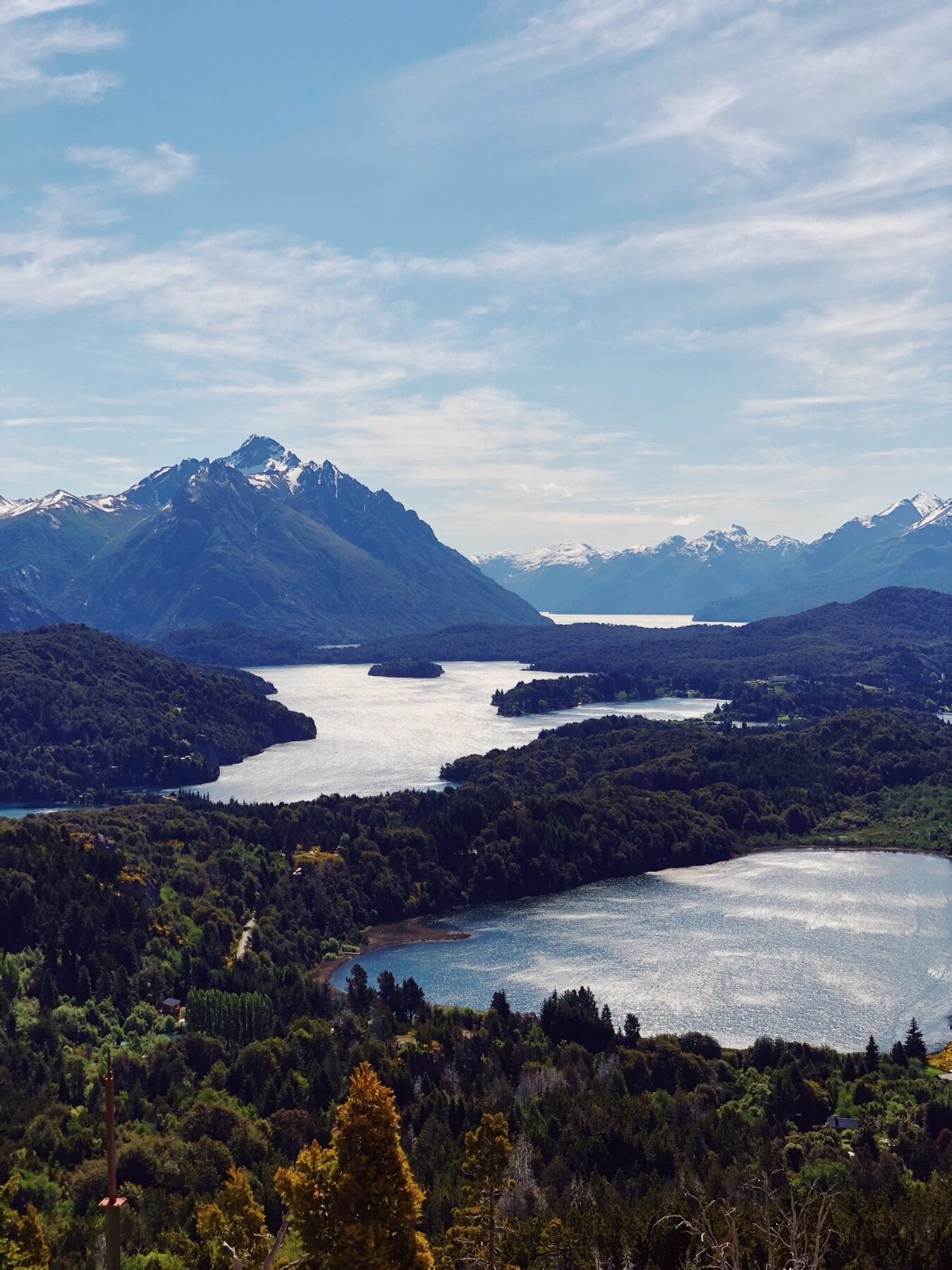 Patagonie uitzicht