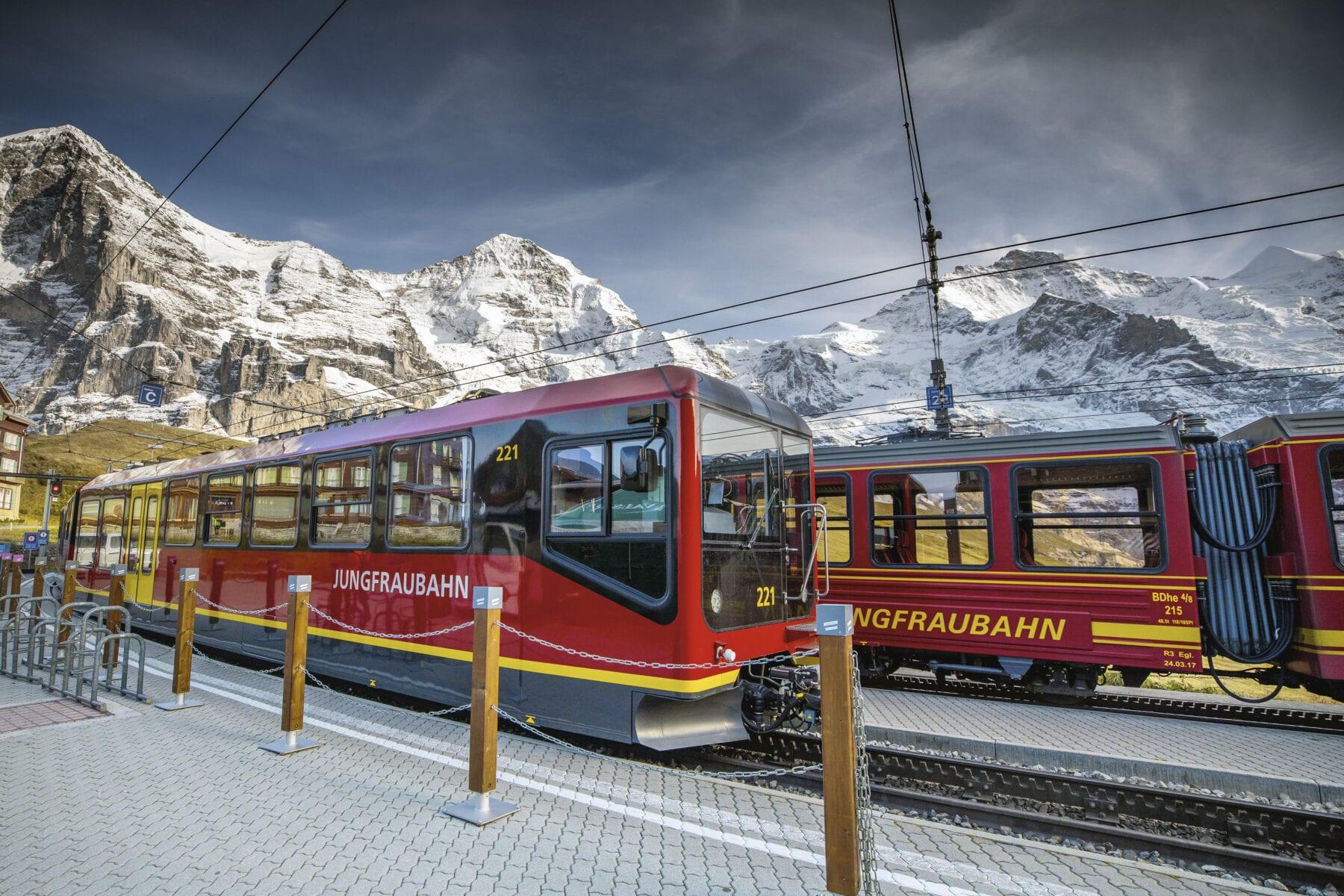 Eiger Express Jungfraujoch station