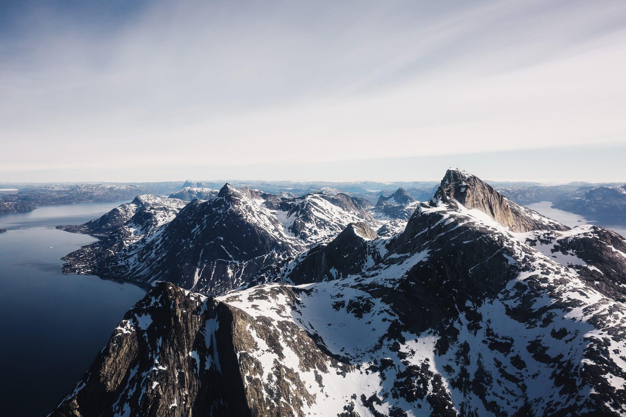 Groenland bergen