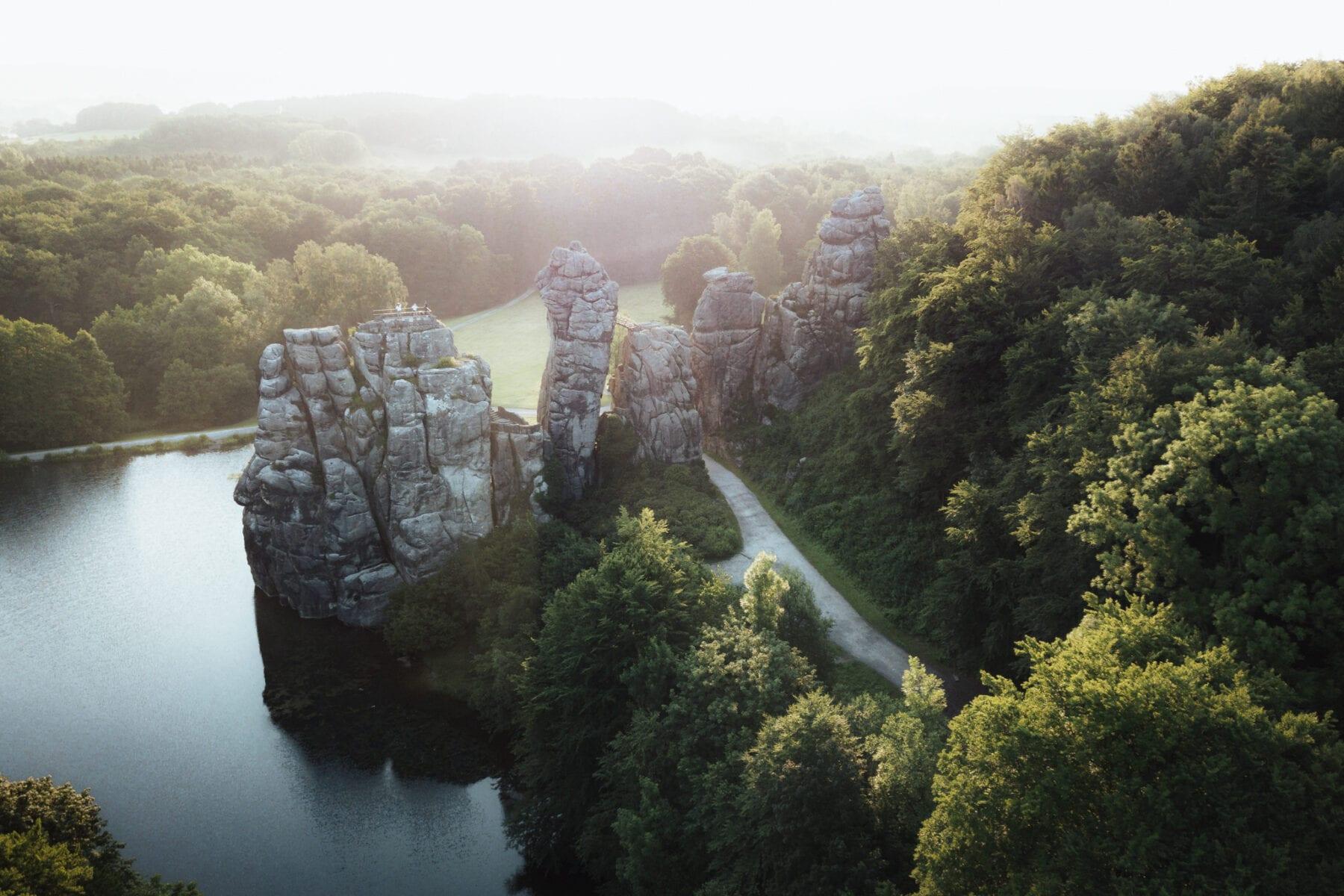 Nordrhein Westfalen Externsteine