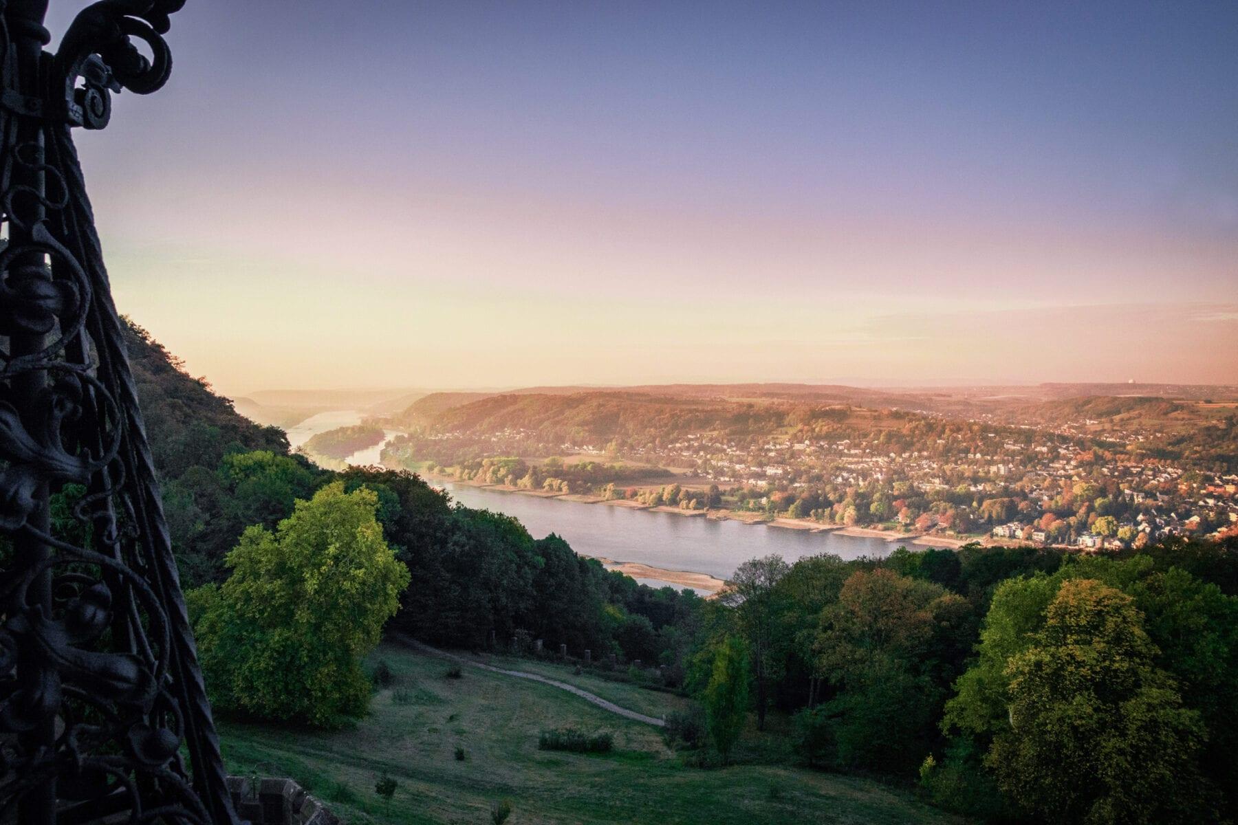 Nordrhein Westfalen uitzicht over de rijn