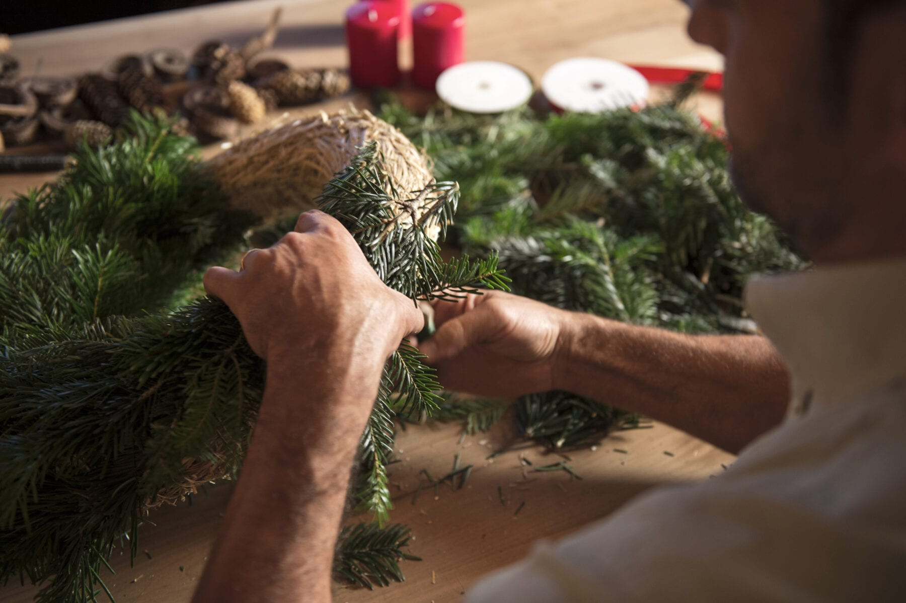 Zuid-Tiroolse Adventskrans kersttradities