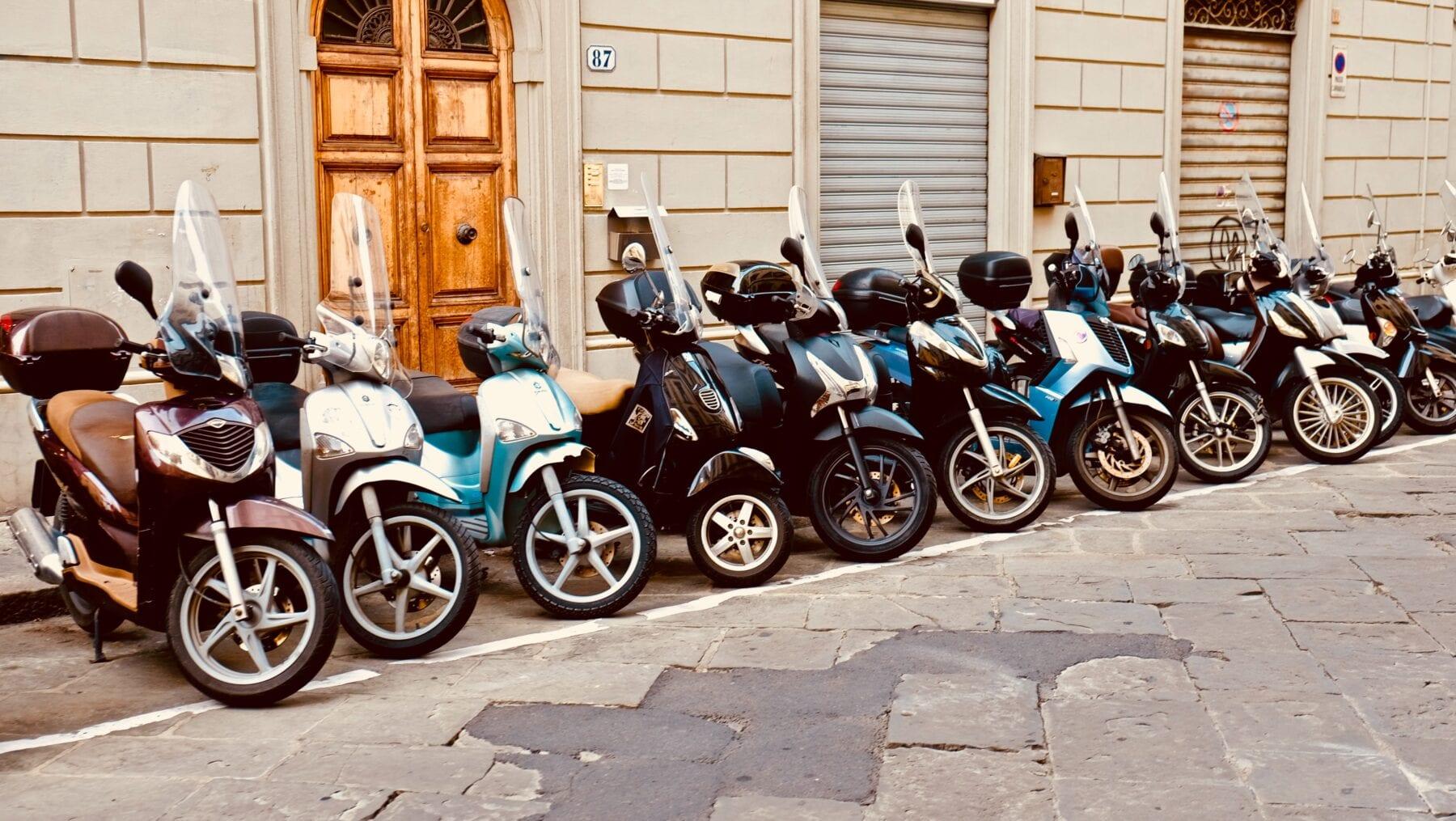 Scooters passignano sul trasimeno