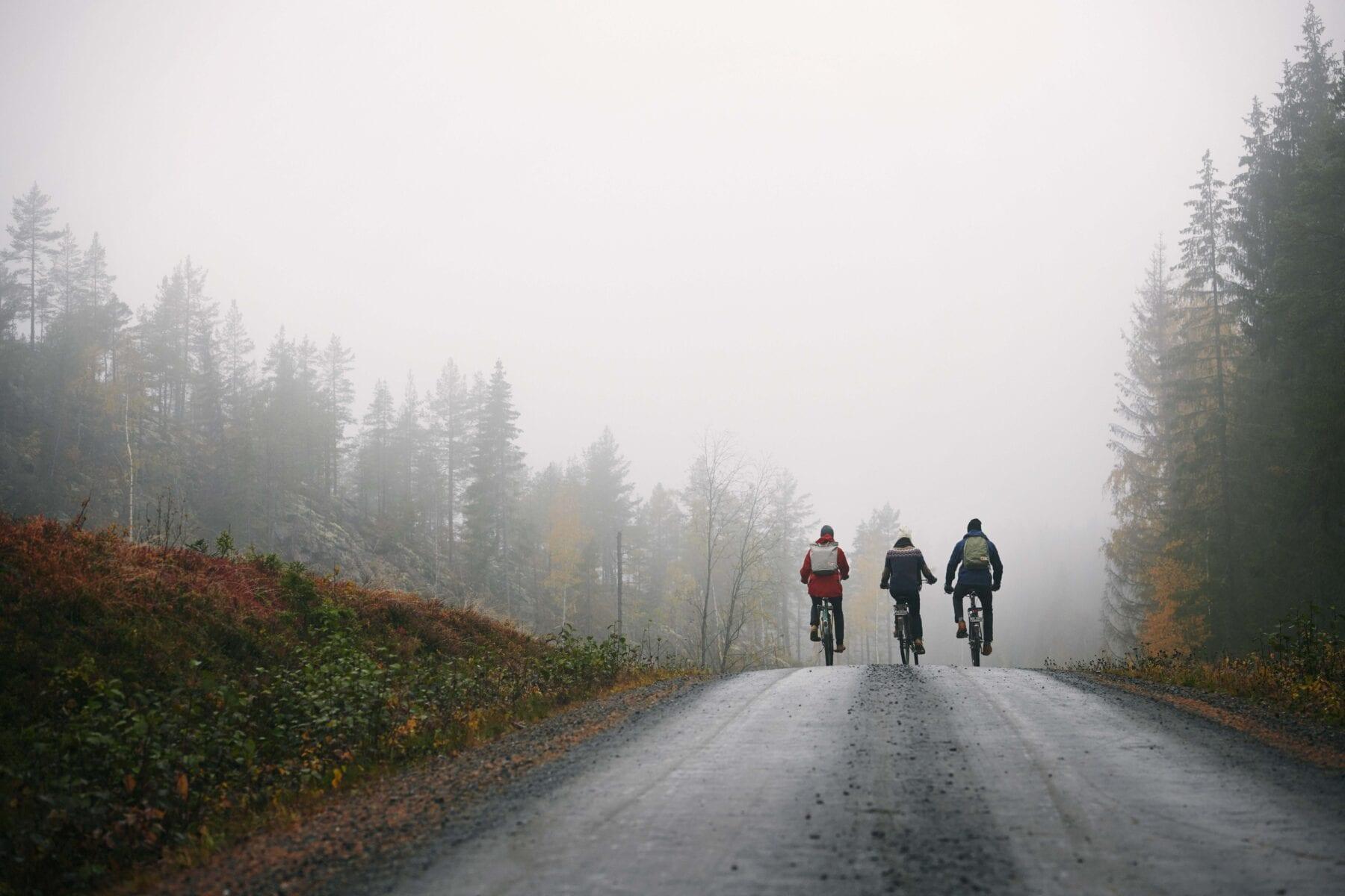 regenbroek op de fiets