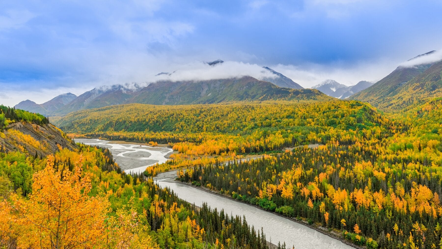 foto's alaska berg