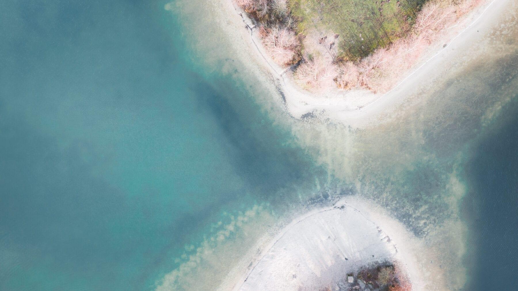 Helder water bij de Galderse Meren
