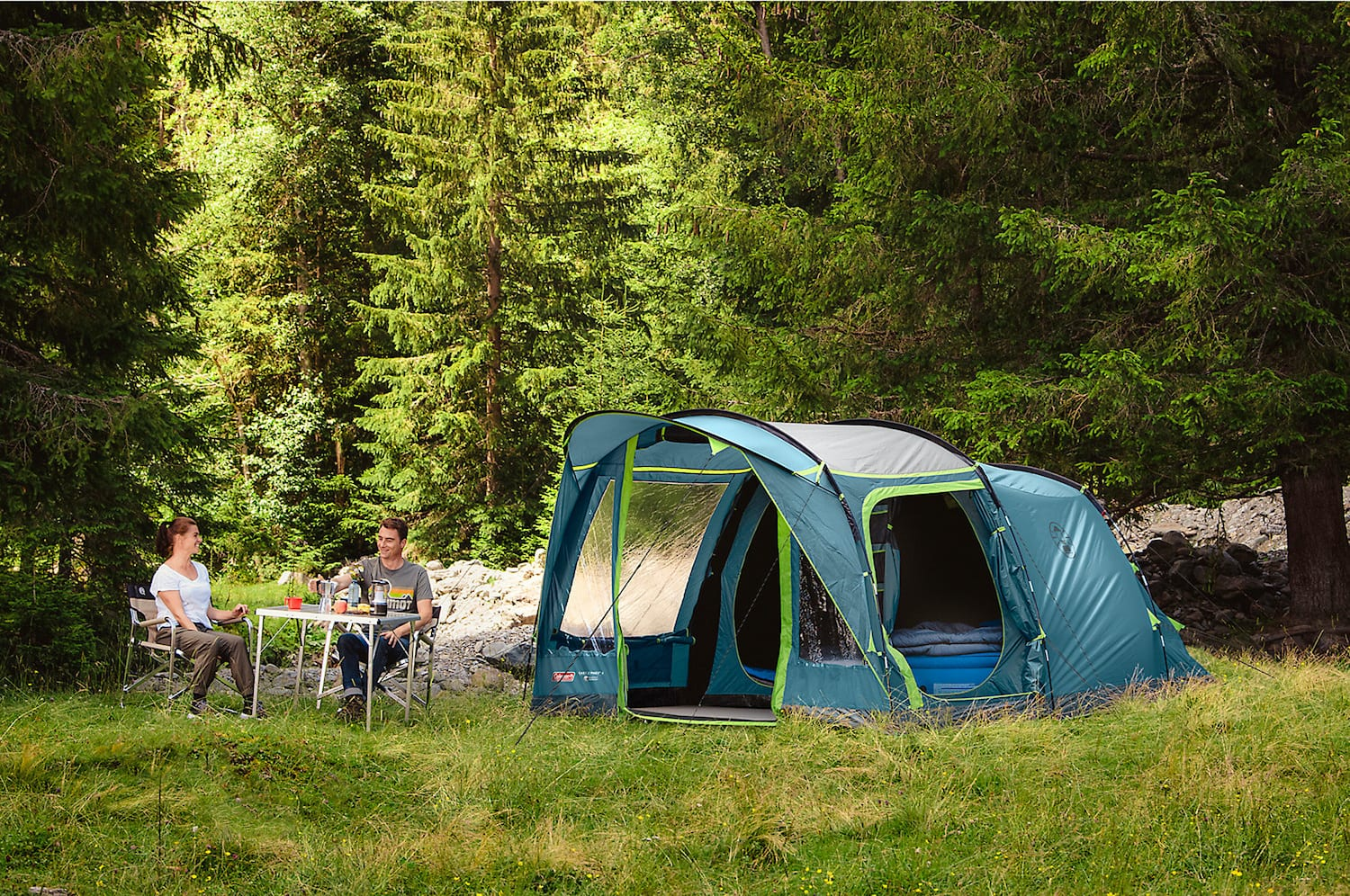 Coleman 4 persoons tent