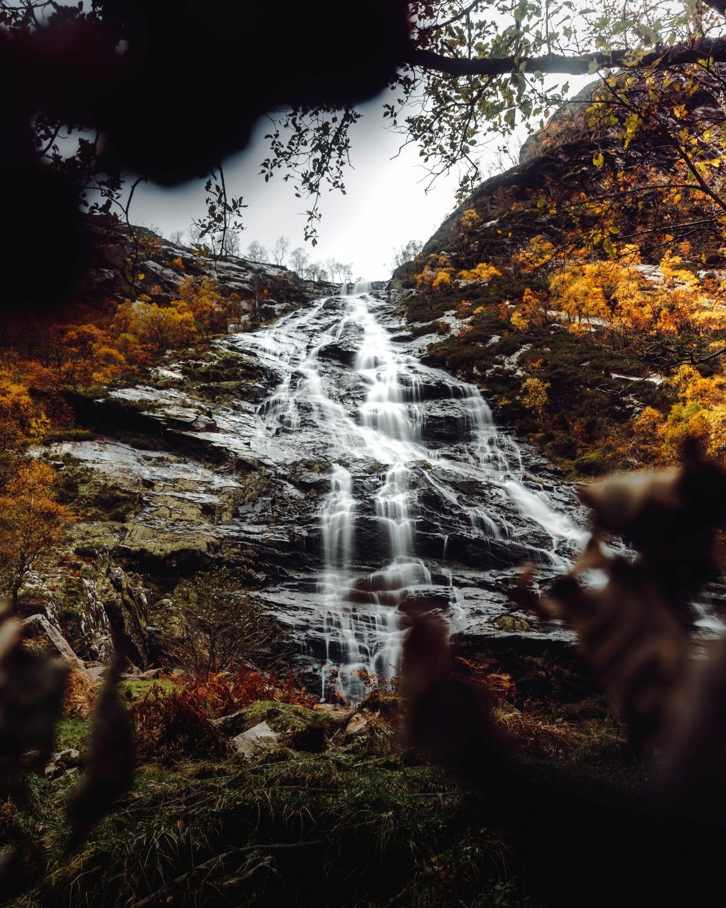 Foto's Schotland waterval