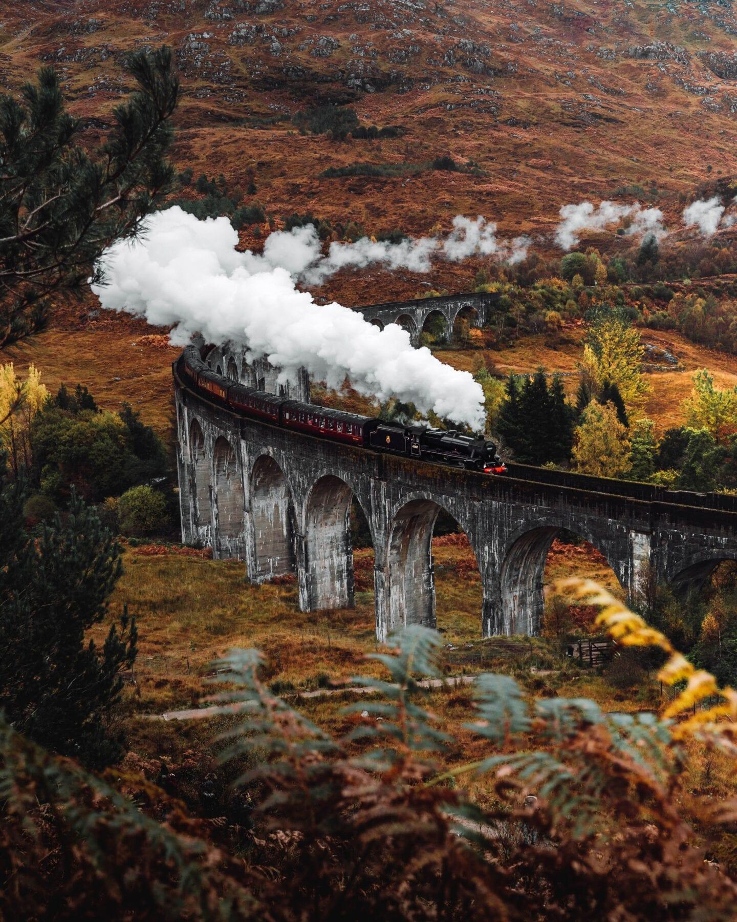 Foto's Schotland trein