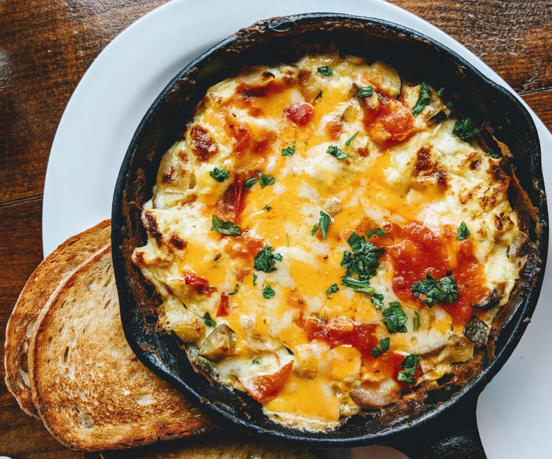 Dutch Oven recepten omelet