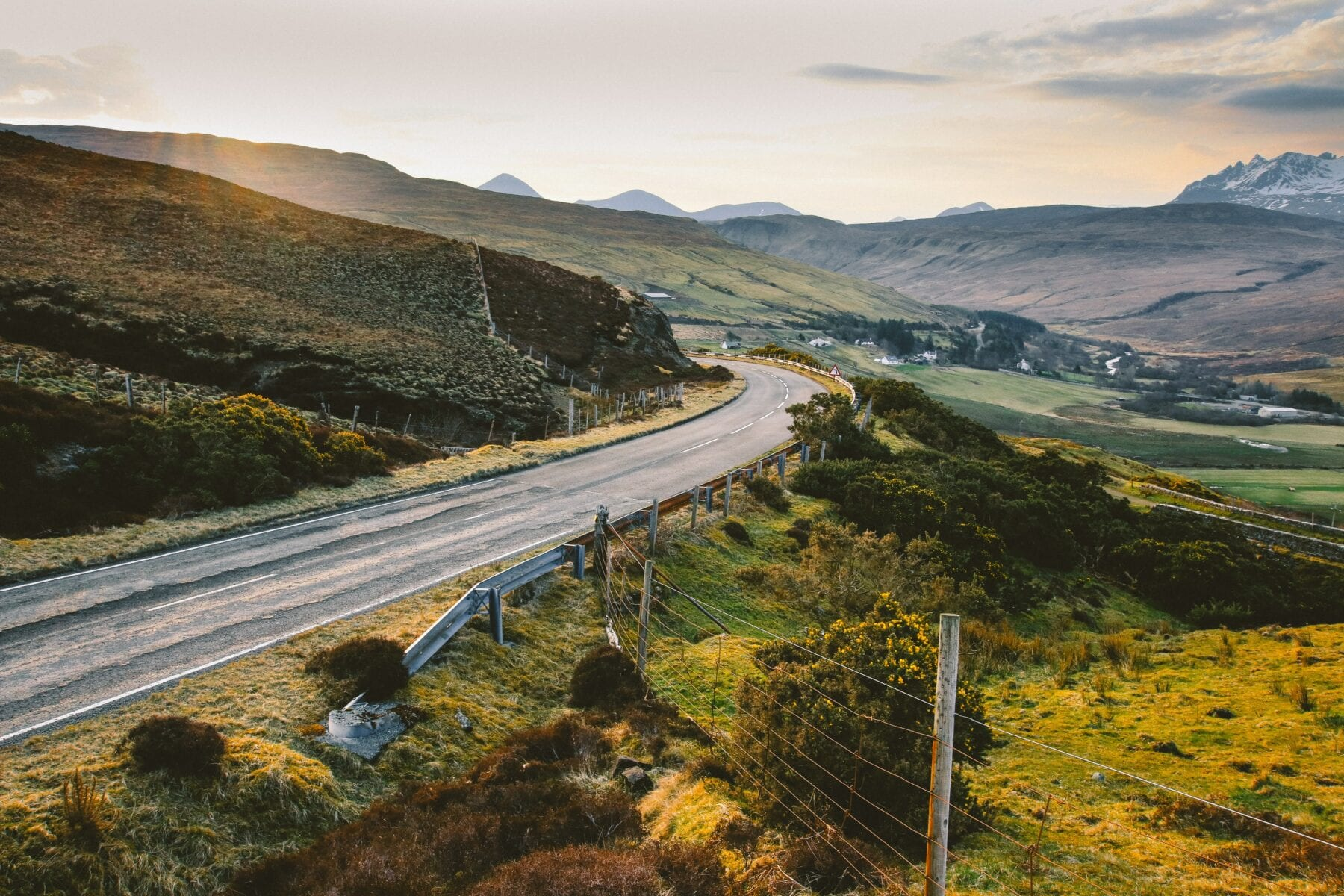 Foto's Schotland weg