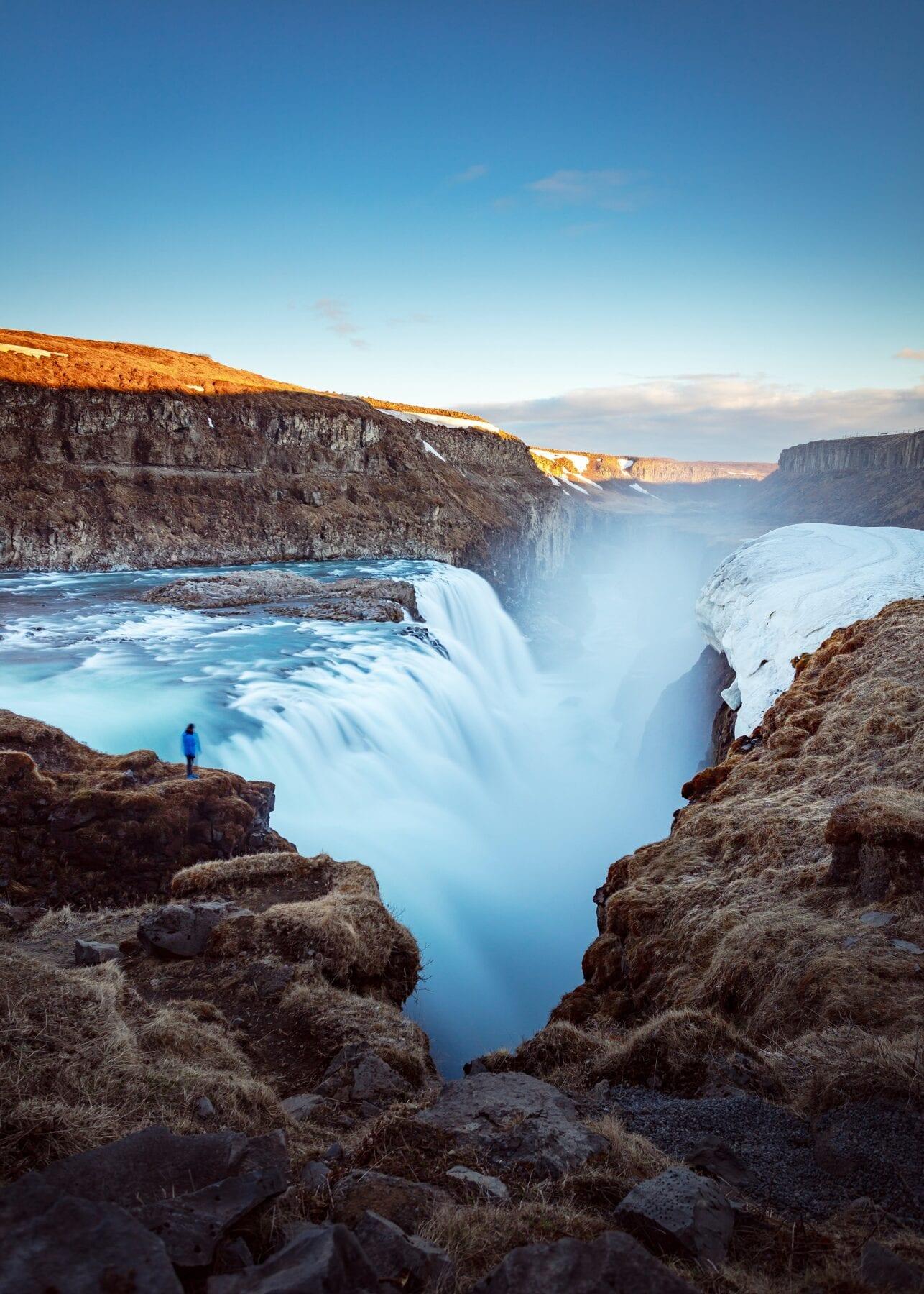 IJsland landshap kloof
