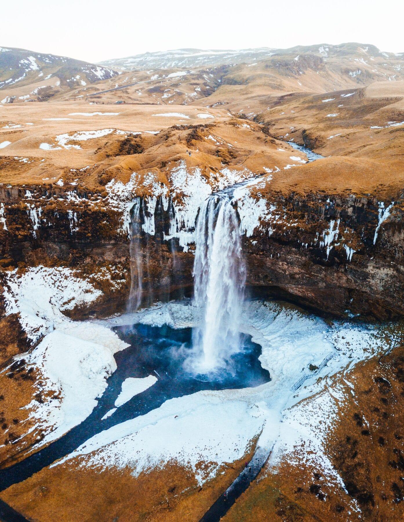 IJsland landshap geiser