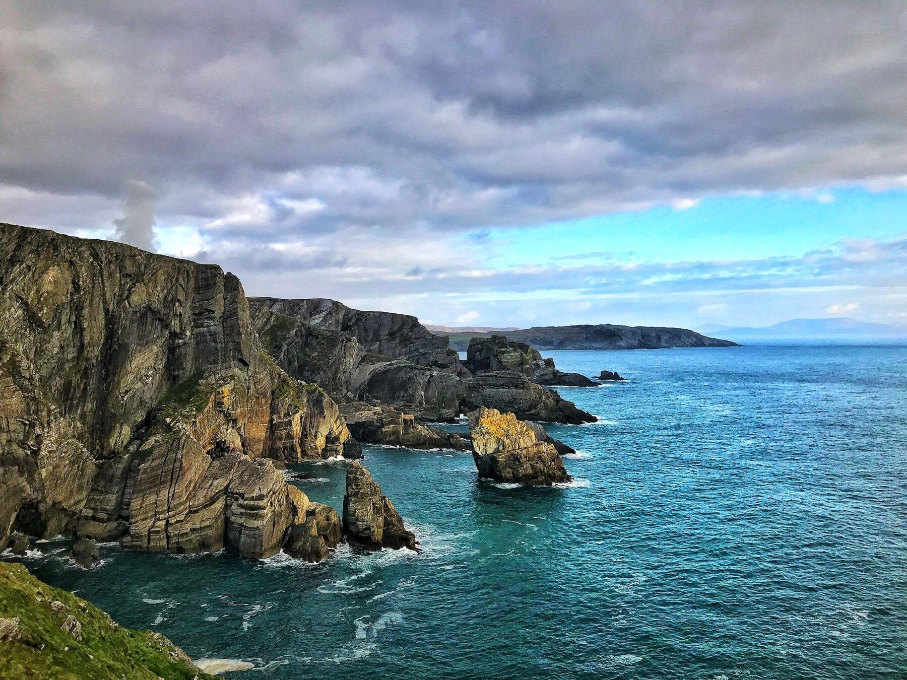 Ierland kliffen