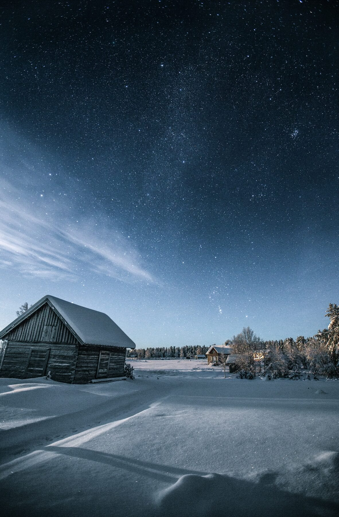 25 prachtige foto's van Lapland sterrenhemel