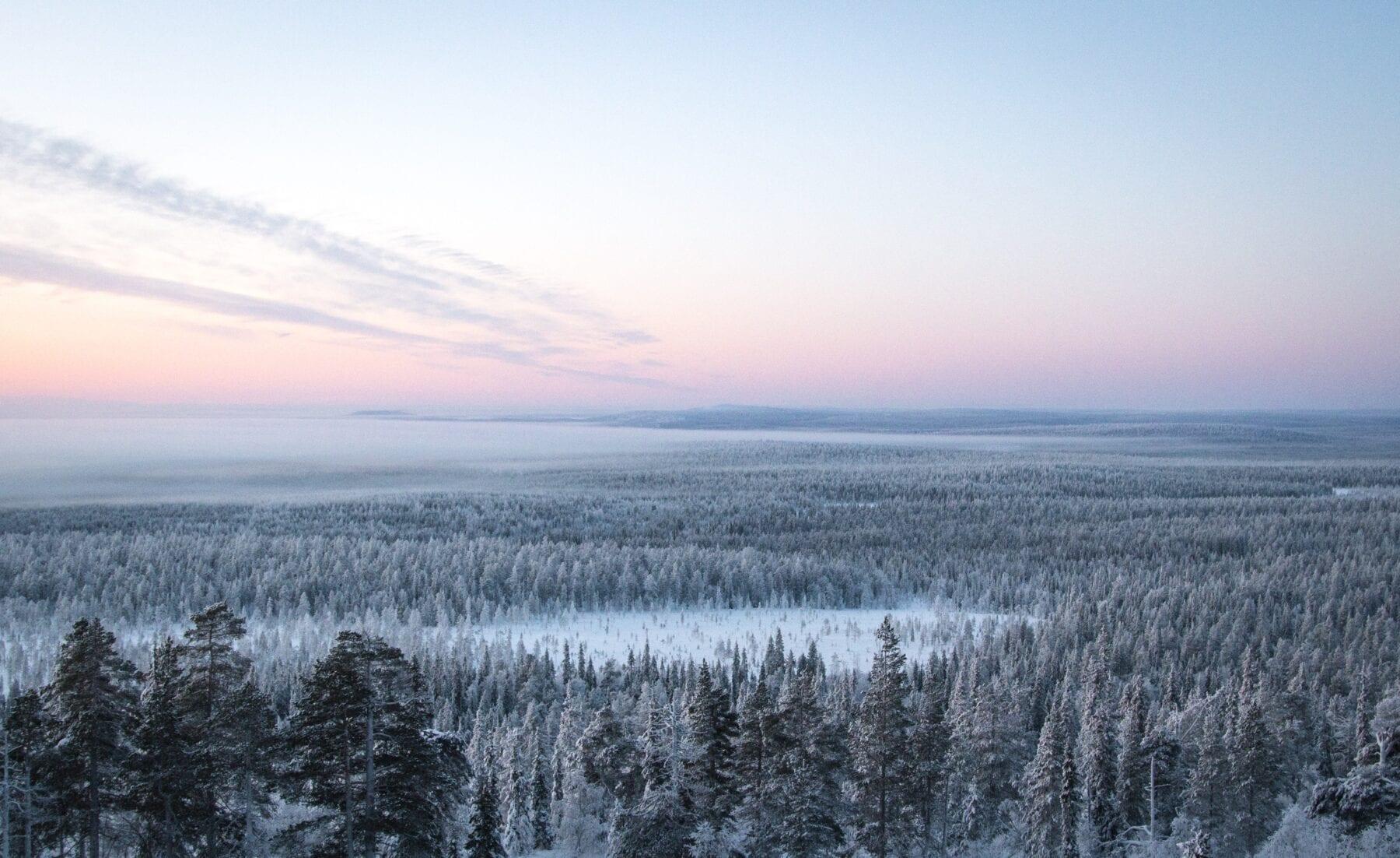 25 prachtige foto's van Lapland overzicht