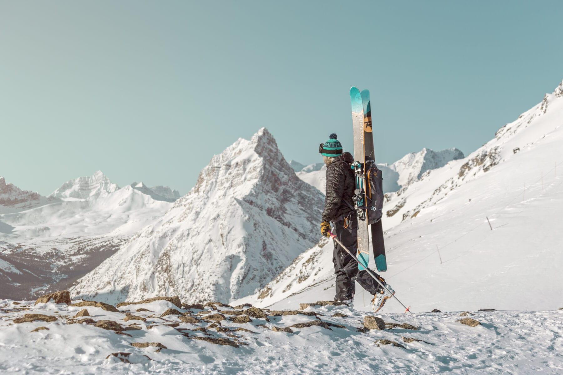 Toerski en free ride paradise Wintersport in Canada Edmonton Jasper