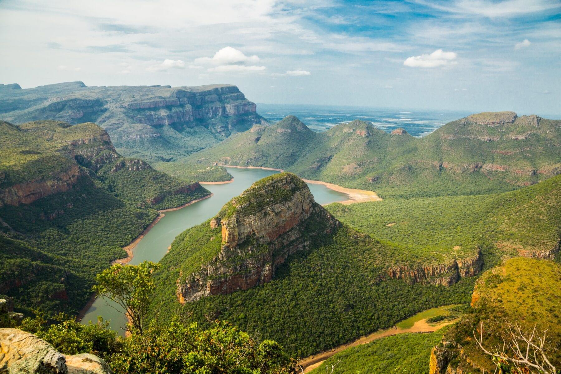 Zuid-Afrika Uitizicht