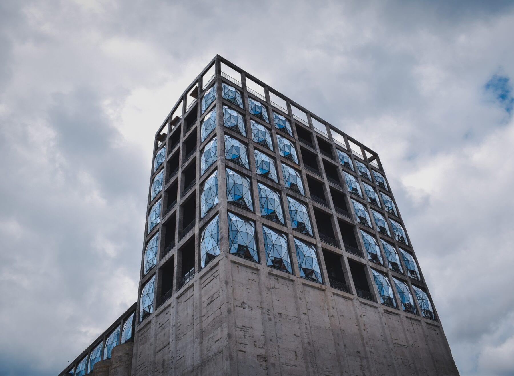 Zuid-Afrika gebouw Waterfront