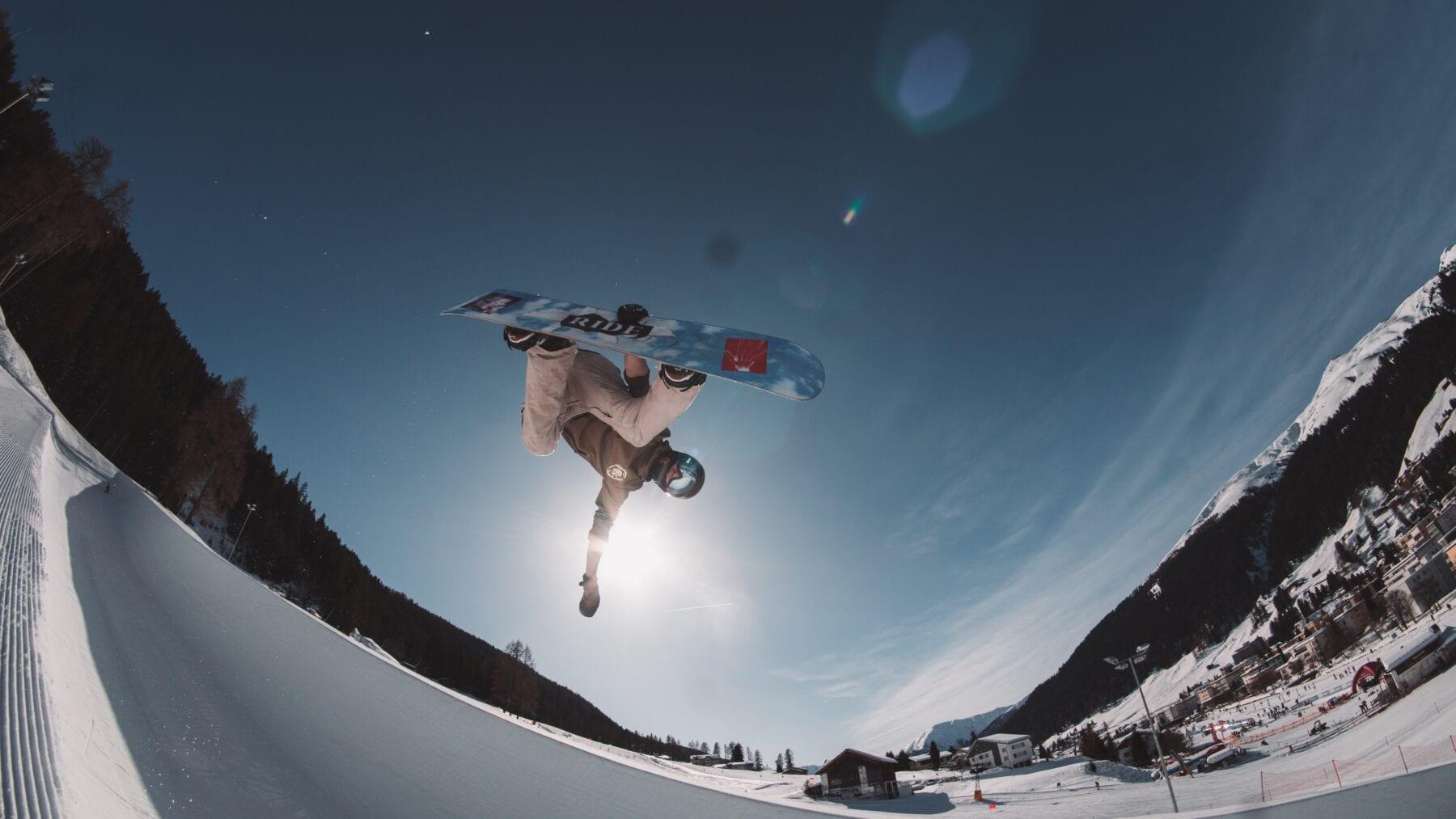 FIS Snowboard Wereldkampioenschap Snowboard tricks
