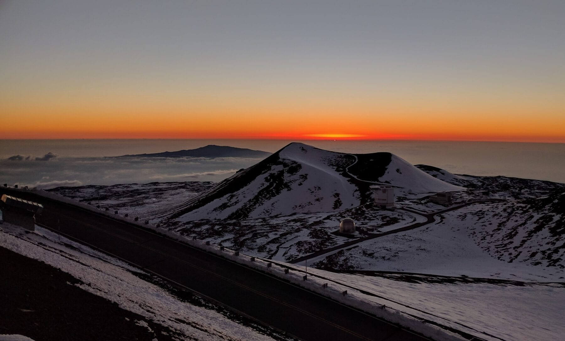 Hoogste berg ter wereld Mauna Kea