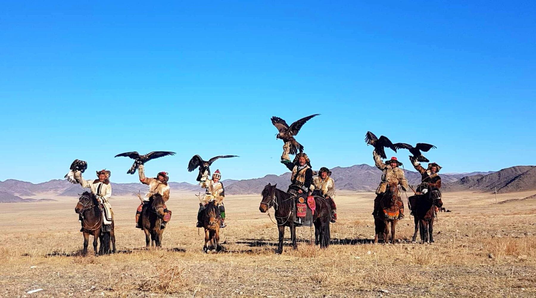 Tamar Valkenier adelaar jagers Mongolië