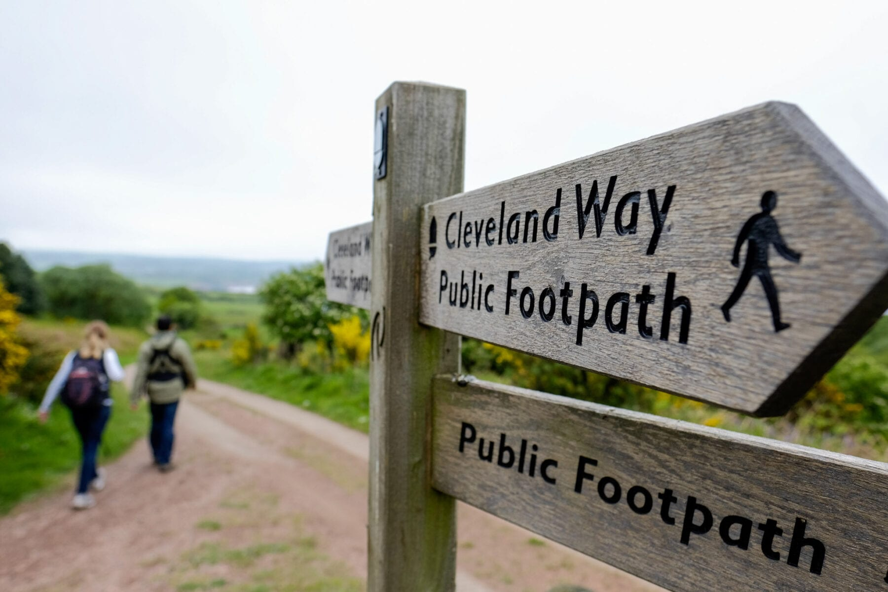 Hiking trails Engeland Cleveland Way