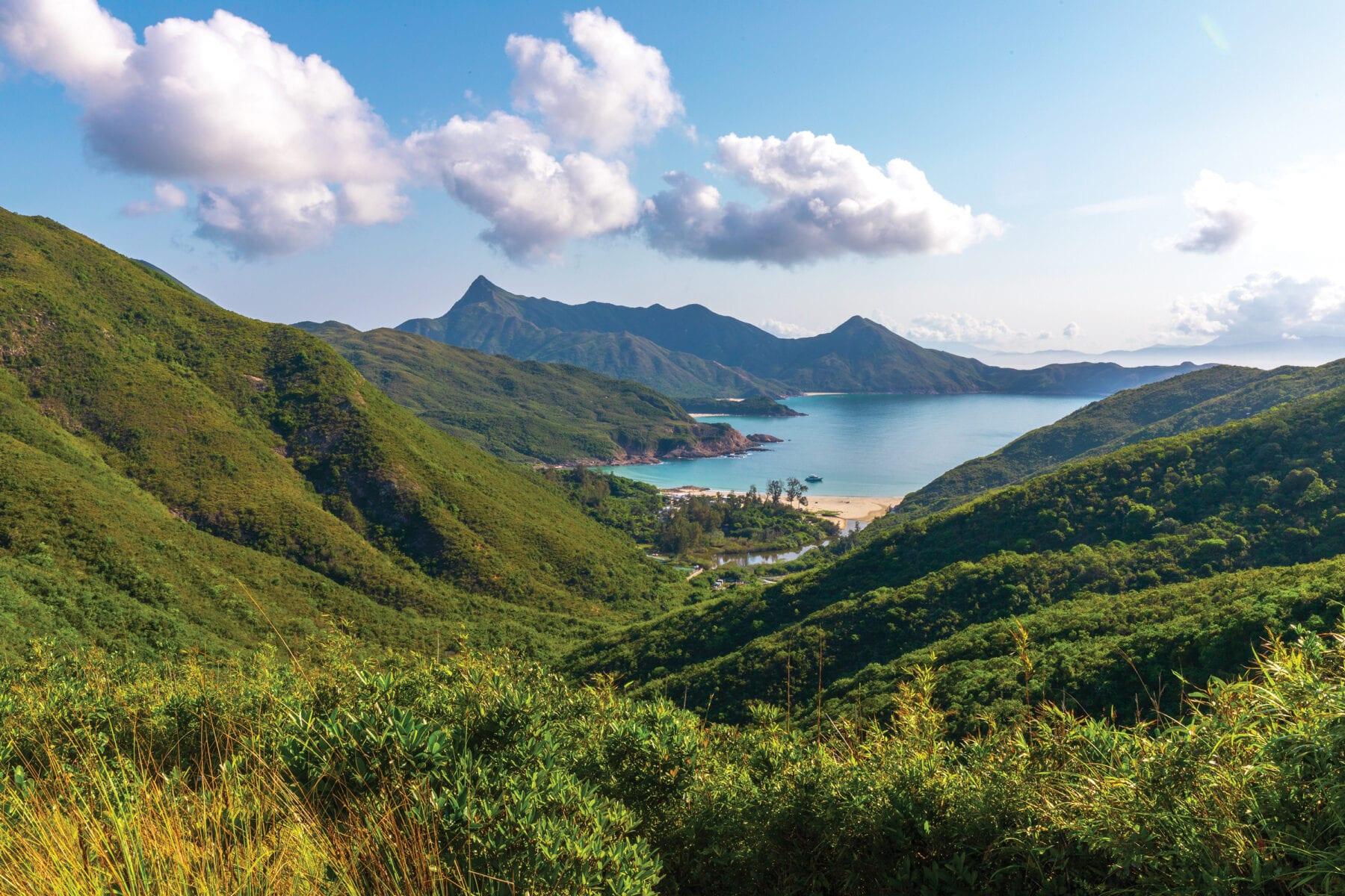 Hikes nabij Hongkong